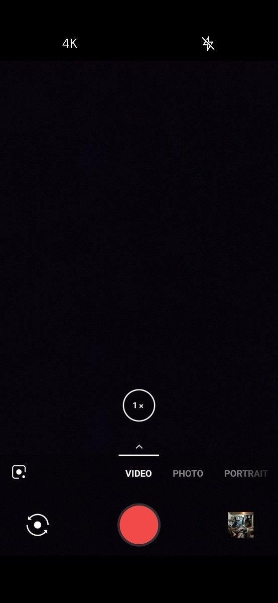 OnePlus 6T OxygenOS Camera app